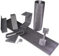 Carbon/Carbon Composite Nuts, Bolts, Channels and Tubes